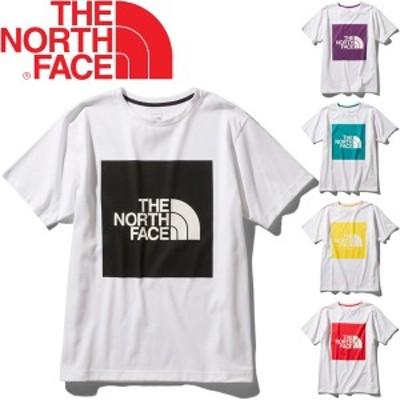 Tシャツ 半袖 メンズ ノースフェイス THE NORTH FACE ショートスリーブ カラード ビッグロゴティー/アウトドア 男性 プリントT 半袖シャ