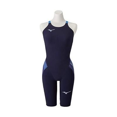 MIZUNO(ミズノ) レース用競泳水着 レディース GX・SONIC V MR ハーフスーツ N2MG0202 カラー:ブルー サイズ:M FINA(国際水泳連盟)承認済み