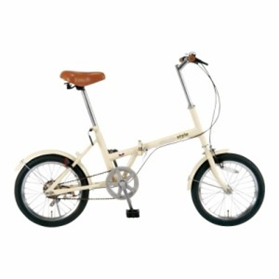 16型 折畳自転車 シンプルスタイル FV16 (SS-H16/) 単品