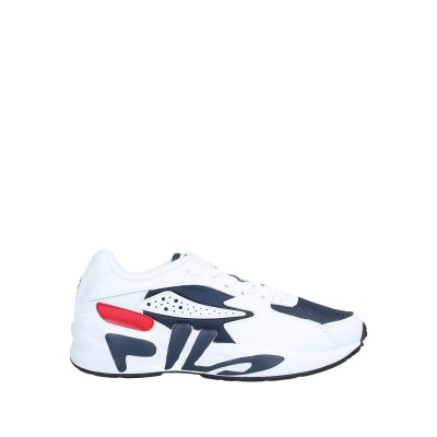 FILA スニーカー&テニスシューズ(ローカット) ホワイト 4.5 革 / 紡績繊維 スニーカー&テニスシューズ(ローカット)