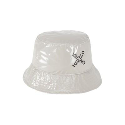 ケンゾー KENZO 帽子 グレー one size ナイロン 50% / ポリウレタン 50% 帽子