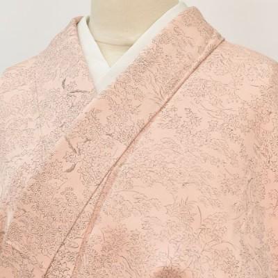 7 小紋 正絹 仕立て上がり 女性 pp0452b