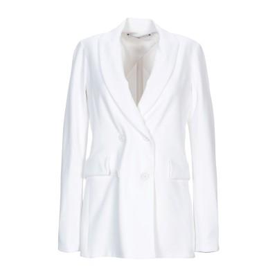 ロゼッタ・ゲッティ ROSETTA GETTY テーラードジャケット ホワイト XS レーヨン 96% / ポリウレタン 4% テーラードジャケット