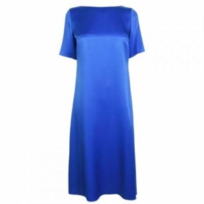 ヒューゴ ボス Boss レディース ワンピース ワンピース・ドレス Dibeca Medium Blue