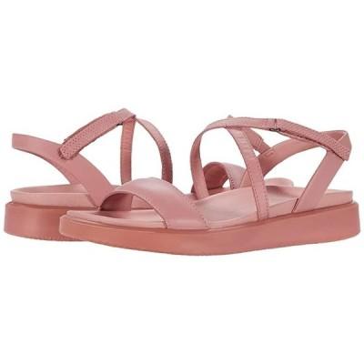 エコー Flowt LX Strap Sandal レディース サンダル Damask Rose Cow Leather
