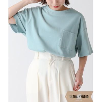 【ULTRA HYBRID】 USAコットン半袖ポケットTシャツ
