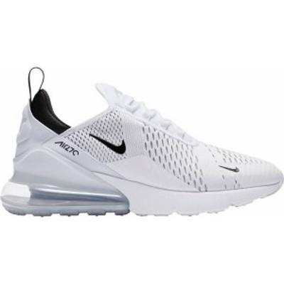 ナイキ メンズ スニーカー シューズ Nike Men's Air Max 270 Shoes White/Black/White