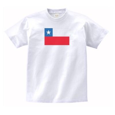 チリ 国 国旗 Tシャツ