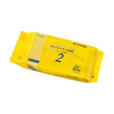 オオサキメディカル アルウエッティone2 31058 1パック(60枚:2枚×30包)
