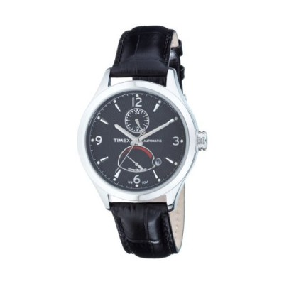 Timex T Series Automatic Black Dial Men's Watch #T2M9776K