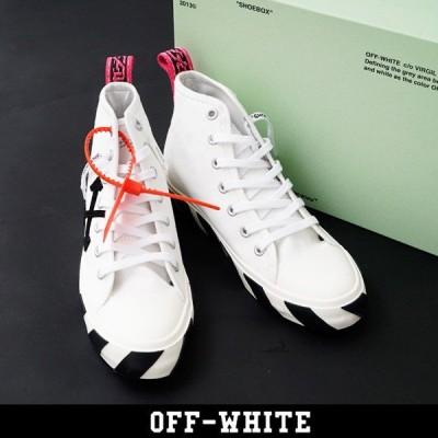 OFF-WHITE(オフホワイト)ハイカットスニーカー:ホワイト:OMIA119S20D330380110:MID TOP SNEAKER