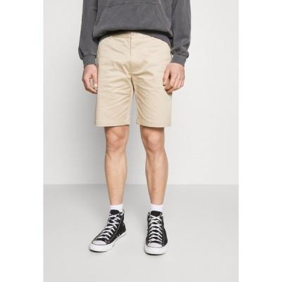 サムスサムス カジュアルパンツ メンズ ボトムス ANDY - Shorts - humus