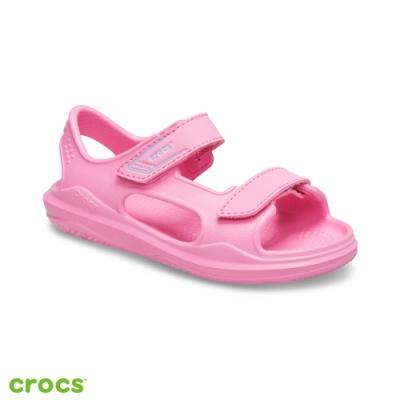 Crocs 卡駱馳 (童鞋) 激浪探險兒童涼鞋-206267-6M3