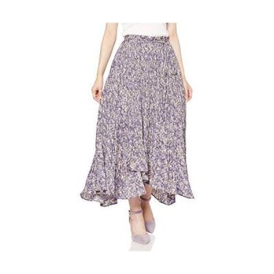 スナイデル プリントプリーツスカート SWFS204115 レディース PPL 日本 0 (日本サイズ7 号相当)