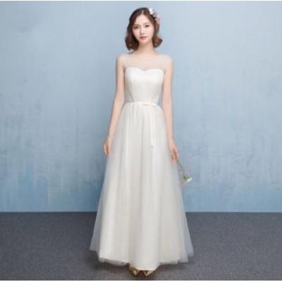 ハートシェイプ スレンダーライン ウエディングドレス