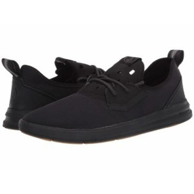 ボルコム メンズ スニーカー シューズ Draft Eco Shoes Black Destructo