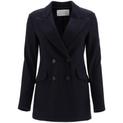 HARRIS WHARF LONDON/ハリスワーフロンドン ジャケット NAVY BLUE Harris wharf london double-breasted jacket レディース 秋冬2020 A32