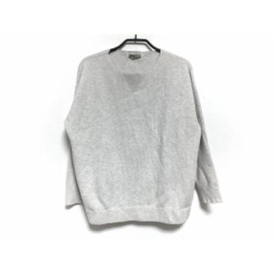 セオリーリュクス theory luxe 長袖セーター サイズ38 M レディース 美品 - ベージュ【中古】20201217