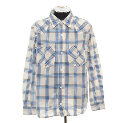 リー Lee チェックウエスタンワークシャツ 長袖 サイズXL LCS46006 中古 古着