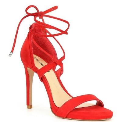 ジアーニビニ レディース サンダル シューズ Daymey Strappy Ankle-Tie Dress Sandals Santorini Red