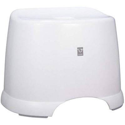 角型 風呂椅子 HK Untie-PRO アンティ プロ(ホワイト, 36.6x28x28.8cm)