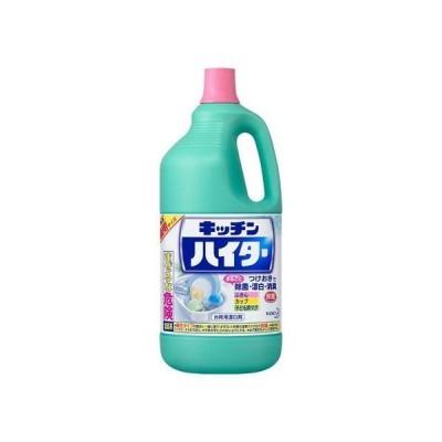 花王 キッチンハイター キッチン用漂白剤 特大 ボトル 2500ml 除菌 塩素系漂白剤