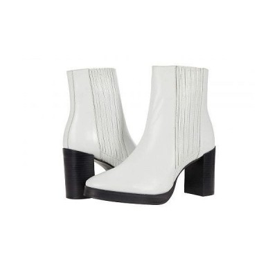 Matisse マティス レディース 女性用 シューズ 靴 ブーツ チェルシーブーツ アンクル Ava - White