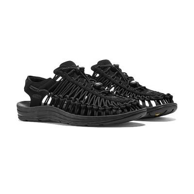 キーン(KEEN) メンズ シューズ ユニーク モノクローム UNEEK ブラック/ブラック 1014097 スニーカー コンフォートサンダル ハイブリッドシューズ 靴