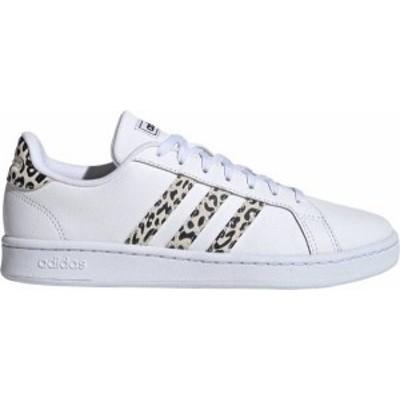 アディダス レディース スニーカー シューズ adidas Women's Grand Court Shoes White/Print