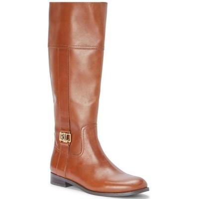 ラルフローレン ブーツ&レインブーツ シューズ レディース Women's Berdie Riding Boots Deep Saddle Tan