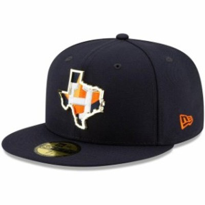 New Era ニュー エラ スポーツ用品  New Era Houston Astros Navy Metal and Thread State 59FIFTY Fitted Hat