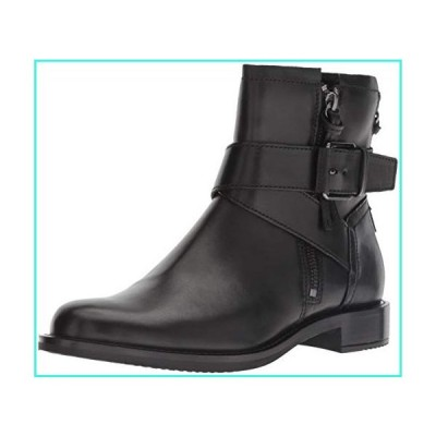 【新品】ECCO Women's Shape 25 Buckle Ankle Boot, Black, 39 M EU (8-8.5 US)(並行輸入品)