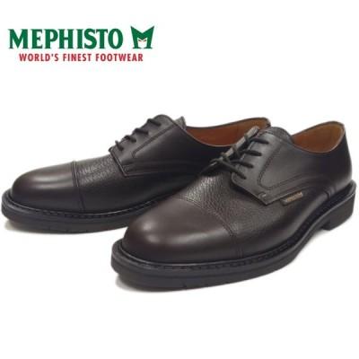 メフィスト メルキオール MEPHISTO MELCHIOR 9051 DARK BROWN ストレートチップシューズ ビジネスシューズ メンズ 本革 キャップトゥ ウォーキング