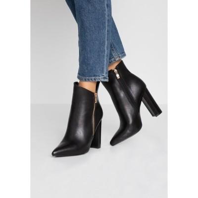 レイド ブーツ&レインブーツ レディース シューズ KEYLA - High heeled ankle boots - black