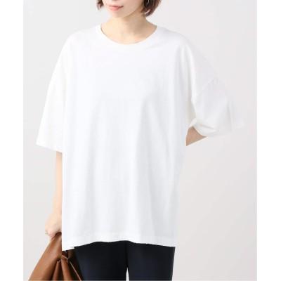 レディース プラージュ CO/CU 5ブソデTシャツ ホワイト フリー
