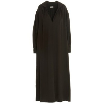 CO/コー Brown Viscose crepe dress レディース 秋冬2020 4192RVCUMBER ju