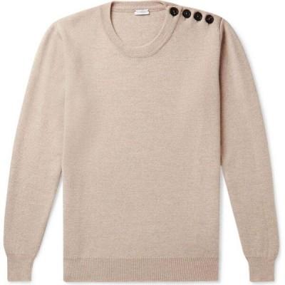 カルーゾ CARUSO メンズ ニット・セーター トップス Sweater Beige