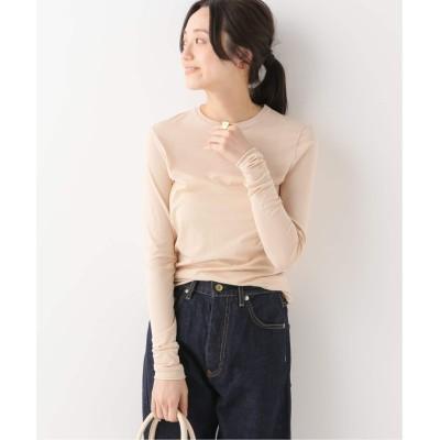 レディース イエナ 【SKIN/スキン】LONG SLEEVE Tシャツ ベージュ フリー