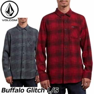 volcom ボルコム シャツ Buffalo Glitch L/S メンズ 長袖 A0531812  【返品種別OUTLET】