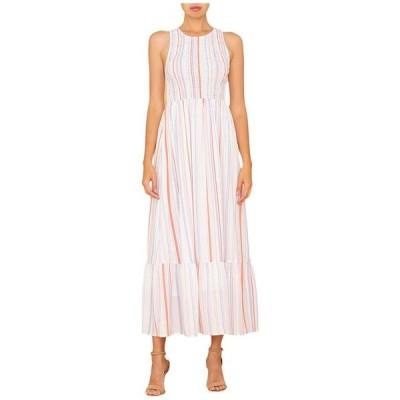 ミスミー レディース ワンピース トップス Smocked Sleeveless Maxi Dress