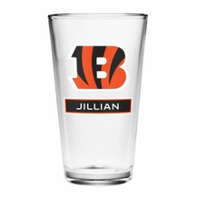 Boelter ベルター スポーツ用品  Cincinnati Bengals Personalized 16oz Full Color Pint Glass