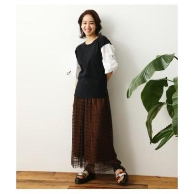 スカート (WEB限定)プリーツマキシスカート