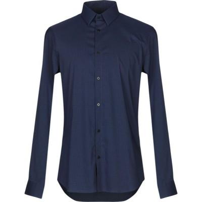 マルシアーノ MARCIANO メンズ シャツ トップス checked shirt Blue