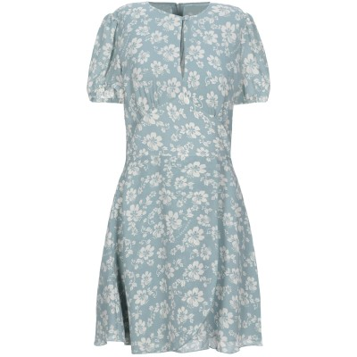 ALEXACHUNG ミニワンピース&ドレス スカイブルー 6 ポリエステル 100% ミニワンピース&ドレス