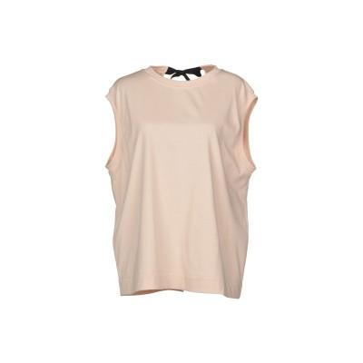 マルニ MARNI T シャツ ライトピンク 38 コットン 99% / ポリウレタン 1% T シャツ
