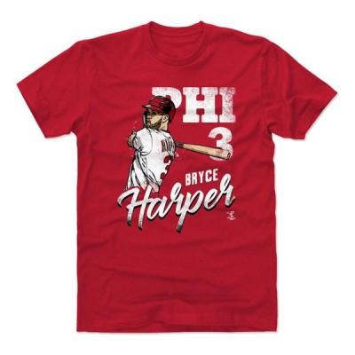MLB Tシャツ フィリーズ ブライス・ハーパー Player Art Cotton T-Shirt 500Level レッド 1112LV【OCSL】