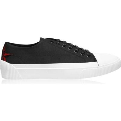ヒューゴ ボス HUGO メンズ スニーカー シューズ・靴 Zero Tenn Nylon Trainers Black