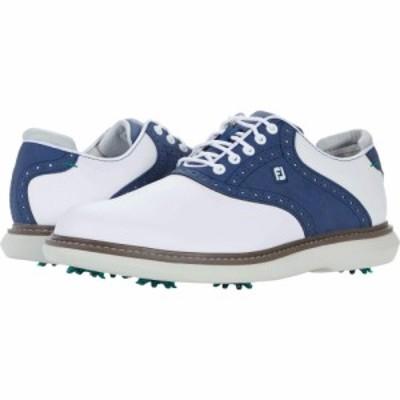 フットジョイ FootJoy メンズ スニーカー シューズ・靴 Traditions White/Blue