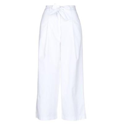 CHILI パンツ ホワイト S コットン 97% / ポリウレタン 3% パンツ
