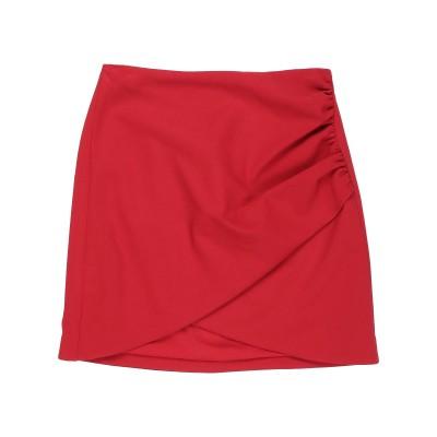 アリス・アンド・オリビア ALICE + OLIVIA ミニスカート レッド 8 アセテート 60% / ポリエステル 40% ミニスカート